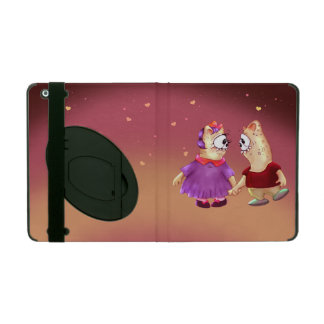 NOUNOUKS ALIEN Powis iCase iPad 2/3/4  Kickstand Case For iPad