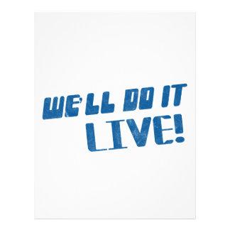 Nous le ferons T-shirt vivant Prospectus Customisé