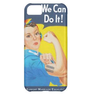 Nous pouvons le faire ! - Égalité de mariage de Coque iPhone 5C