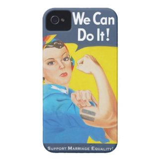 Nous pouvons le faire ! - Égalité de mariage de Coques iPhone 4