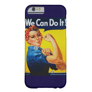 Nous pouvons le faire Rosie le cas de l'iPhone 6 Coque iPhone 6 Barely There