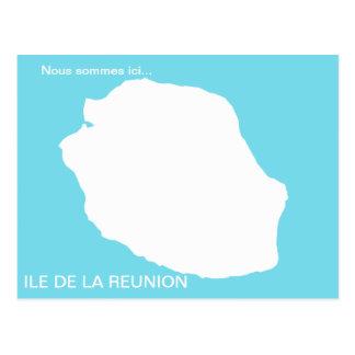 Nous sommes ici.... (Ile de la Réunion) Cartes Postales