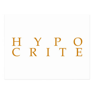 Nous sommes tous les hypocrites cartes postales