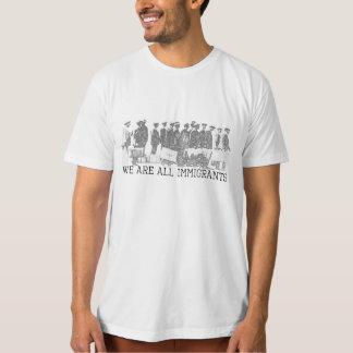 Nous sommes tous les immigrés t shirt
