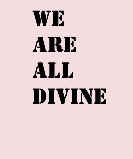Nous sommes tous T-shirt divin