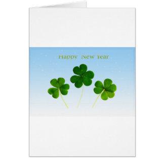 Nouveau-Année-Jour irlandais Carte