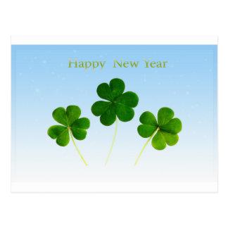 Nouveau-Année-Jour irlandais Carte Postale