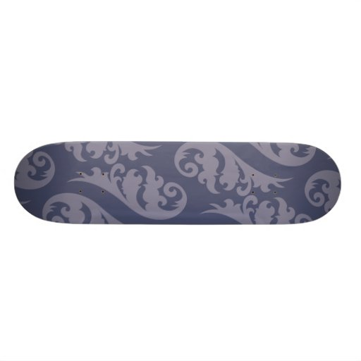 Nouveau blues custom skateboard