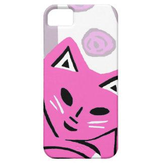 Nouveau cadeau rose de cas de l'iPhone 5 de chat Coques iPhone 5 Case-Mate