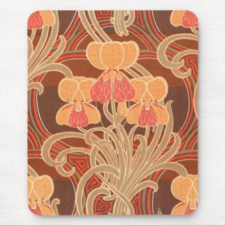 Nouveau Fall Colors Mouse Pad