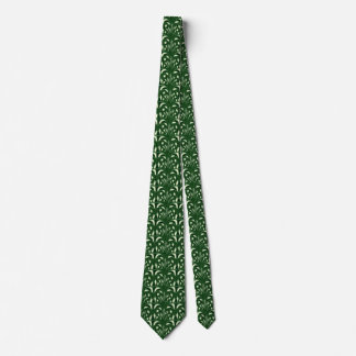 Nouveau - Mushroom Abstract - Deep Forest Tie