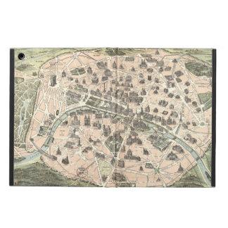 Nouveau Paris Monumental Map Case For iPad Air