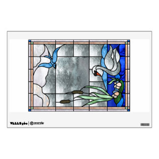 Nouveau Swan Window or Wall Decal