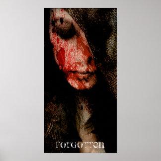 - [NOUVEAUX MAUX] - jeune fille de sang oubliée Affiches