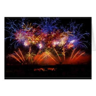Nouvel an bouquet final - cartes de vœux