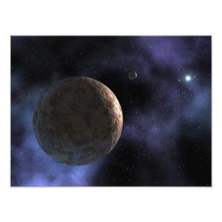 Nouvellement découvert planète-comme l'objet  tirage photo