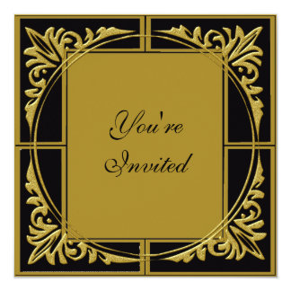 Nouvelles années d'invitations de partie carton d'invitation  13,33 cm