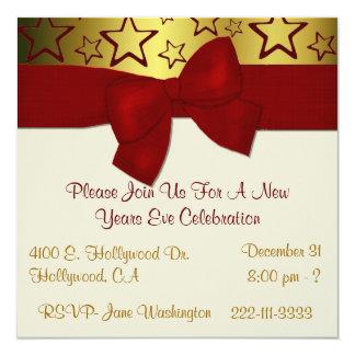 Nouvelles années élégantes d'invitation de partie carton d'invitation  13,33 cm