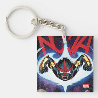 Nova Flying At Top Speed Keychain