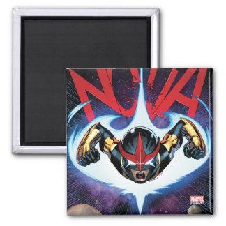 Nova Flying At Top Speed Magnet
