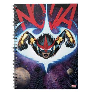 Nova Flying At Top Speed Notebook