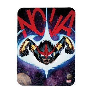 Nova Flying At Top Speed Rectangular Photo Magnet