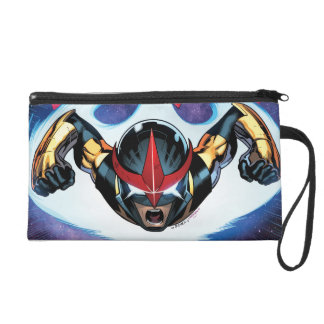 Nova Flying At Top Speed Wristlet