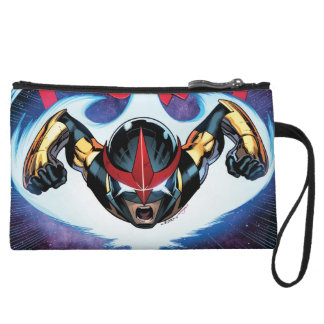 Nova Flying At Top Speed Wristlet Purses