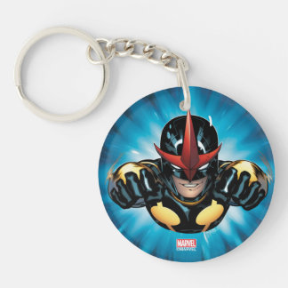 Nova Flying Through space Keychain
