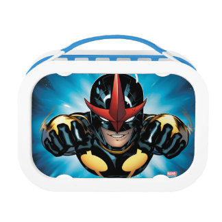 Nova Flying Through space Lunch Box