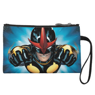 Nova Flying Through space Wristlet Clutch
