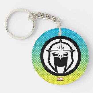 Nova Icon Double-Sided Round Acrylic Keychain