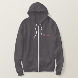 Nova Labs fleece zip hoodie
