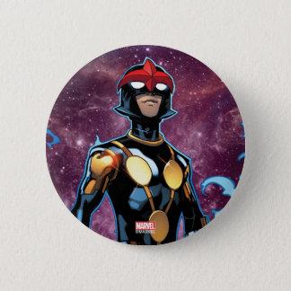 Nova Over Fallen Nova Corps Helmets 2 Inch Round Button