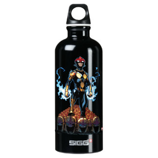 Nova Over Fallen Nova Corps Helmets Water Bottle
