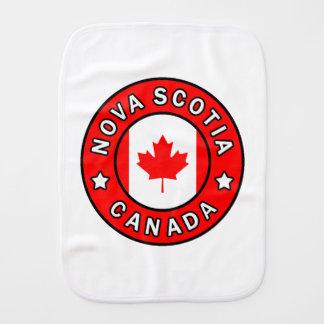 Nova Scotia Canada Burp Cloth