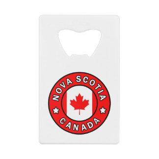 Nova Scotia Canada Credit Card Bottle Opener