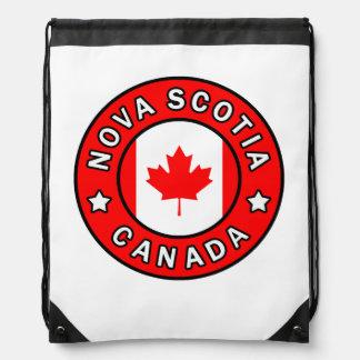 Nova Scotia Canada Drawstring Bag