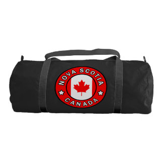 Nova Scotia Canada Gym Bag