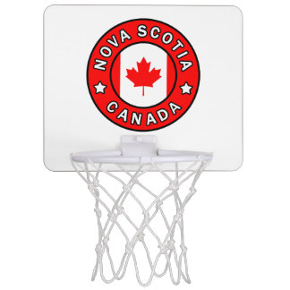 Nova Scotia Canada Mini Basketball Hoop