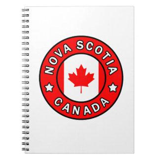 Nova Scotia Canada Notebooks