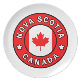 Nova Scotia Canada Plate
