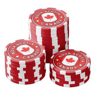 Nova Scotia Canada Poker Chips