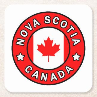 Nova Scotia Canada Square Paper Coaster