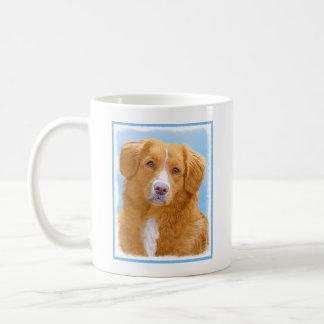 Nova Scotia Duck Tolling Retriever Dog Painting Coffee Mug