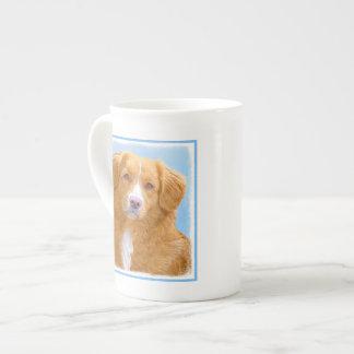 Nova Scotia Duck Tolling Retriever Dog Painting Tea Cup