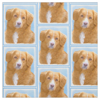 Nova Scotia Duck Tolling Retriever Fabric