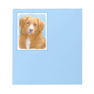 Nova Scotia Duck Tolling Retriever Notepad
