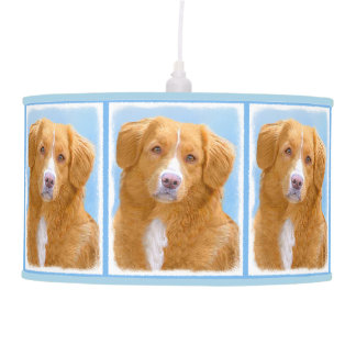 Nova Scotia Duck Tolling Retriever Pendant Lamp