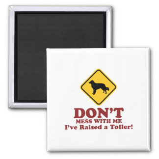 Nova Scotia Duck Tolling Retriever Square Magnet